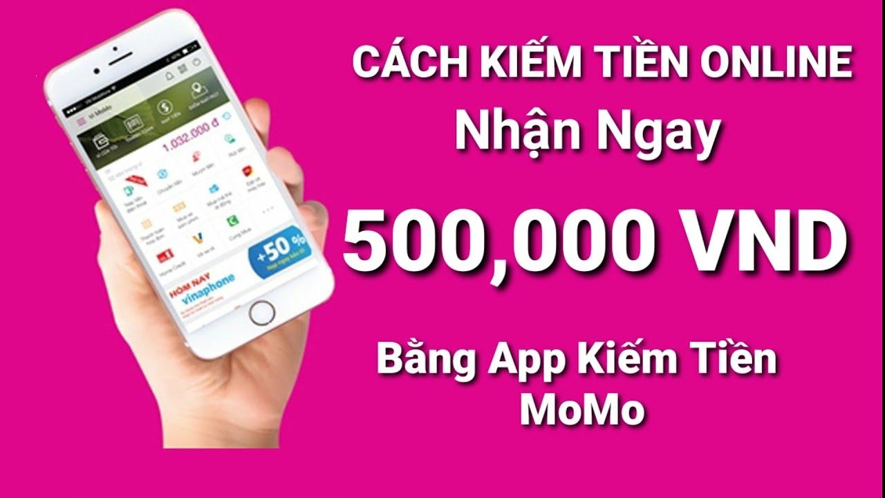 Kiếm tiền từ mã giới thiệu momo