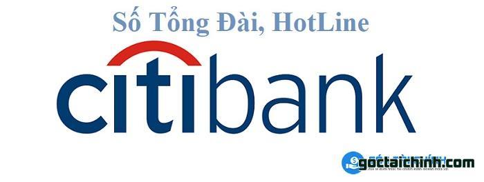 Số tổng đài Citibank mới nhất