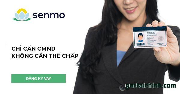 Điều kiện vay tiền Senmo khá đơn giản