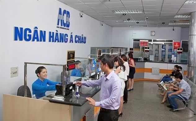 chi nhánh ngân hàng acb làm việc thứ 7