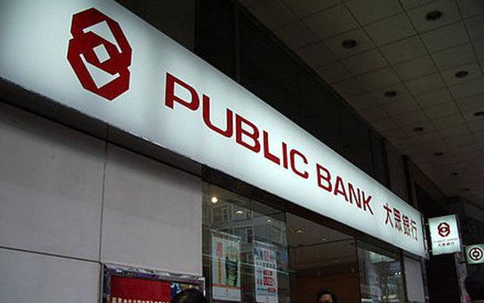 ngân hàng public bank có dịch vụ gì