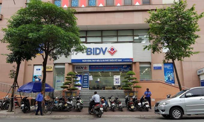 Chi nhánh tại ngân hàng BIDV