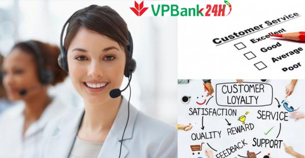 Tổng đài VPBank hỗ trợ tư vấn khách hàng 24/24