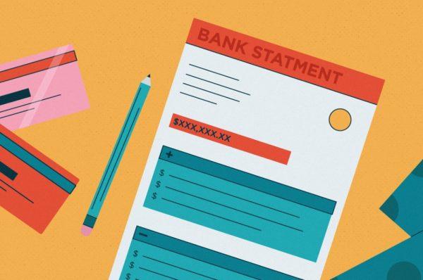 Sao kê ngân hàng hay Bankstament