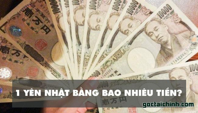 Một Yên Nhật bằng bao nhiêu tiền Việt Nam? Có thể đổi tiền Nhật ở đâu?