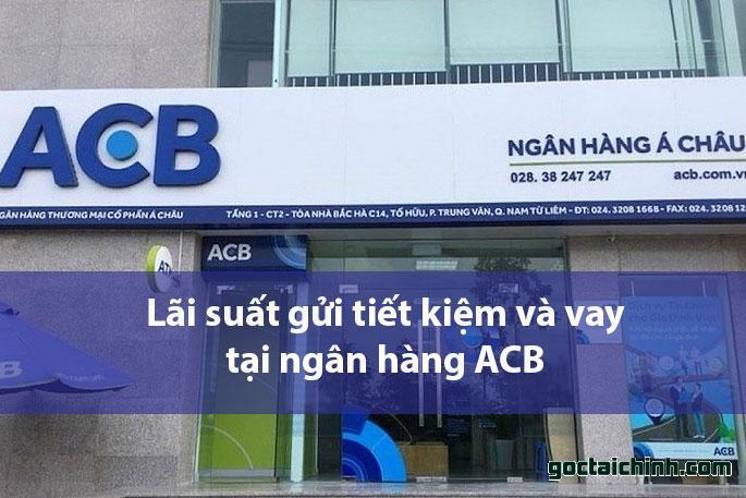 Lãi suất tại ngân hàng ACB