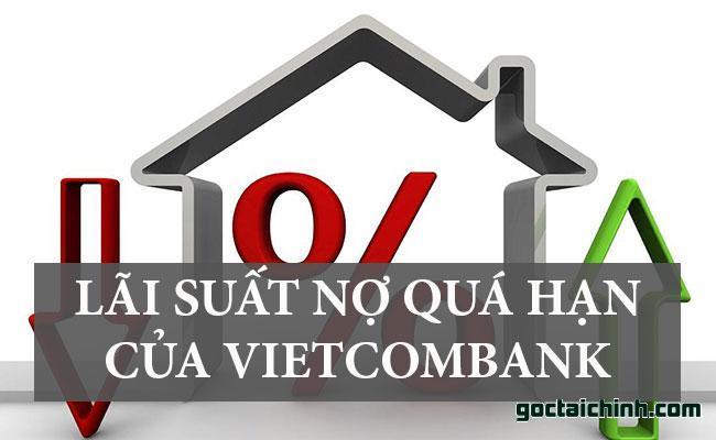 Lãi suất nợ quá hạn của ngân hàng Vietcombank