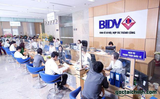 Dịch vụ chuyển tiền BIDV