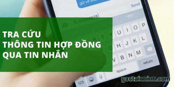 Tra cứu hợp đồng vpbank qua sms