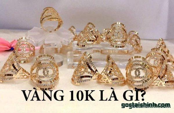 Vàng 10k là gì? có nên mua vàng 10k