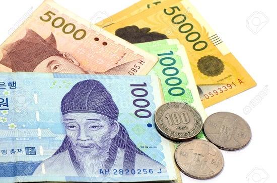 Cách đổi đồng Won sang tiền Việt ở Hàn Quốc