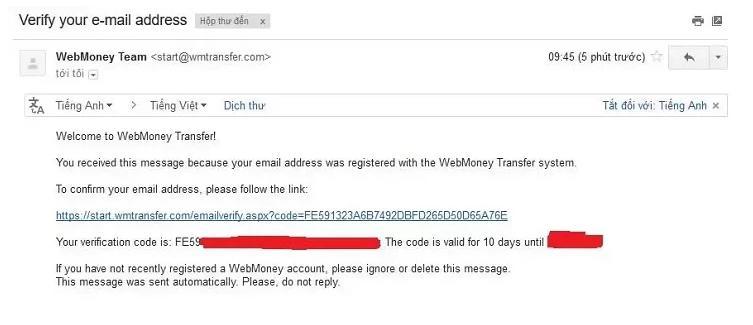 cách đăng ký webmoney