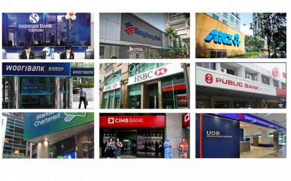 Những ngân hàng nước ngoài tại Việt Nam