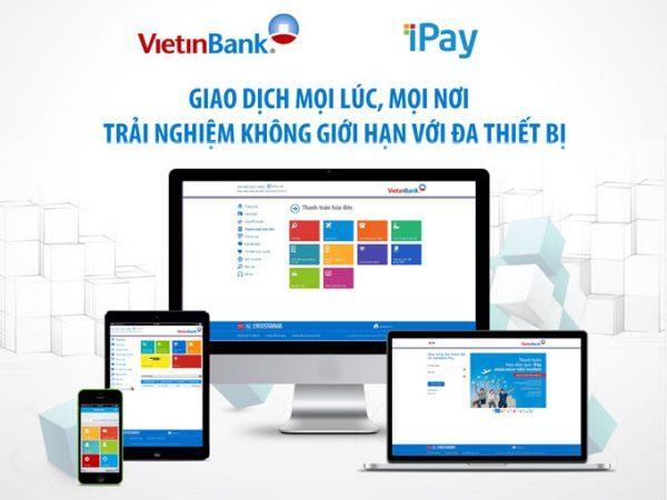 những tiện ích của Vietinbank iPay