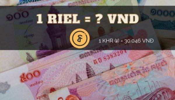 Chuyển đổi 100 riel sang tiền Việt