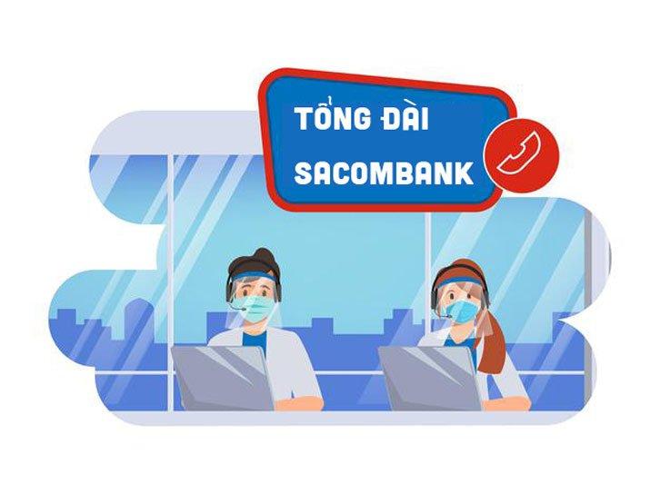 Số tổng đài Sacombank - Hotline Sacombank mới nhất