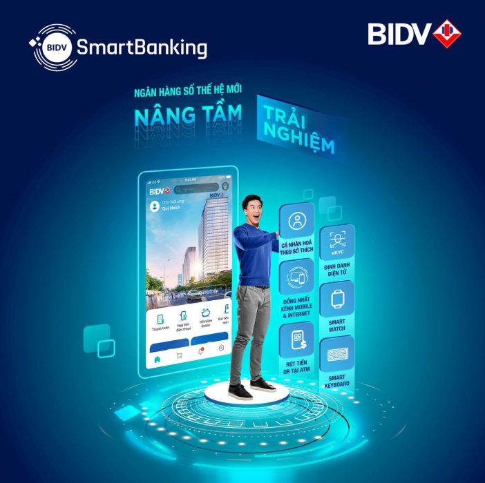 Chuyển tiền từ BIDV sang Vietinbank qua BIDV Smart Banking