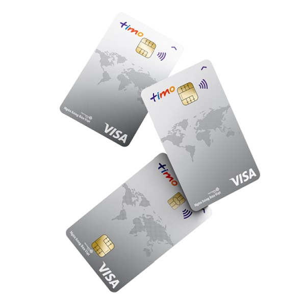Thẻ trả trước nội địa và quốc tế ví dụ