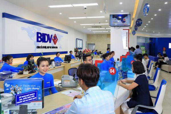Vay tín chấp theo lương tại ngân hàng BIDV
