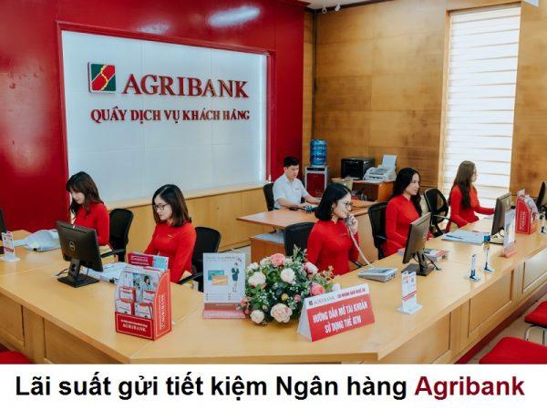 Cập nhật lãi suất gửi tiết kiệm Ngân hàng Agribank 2021