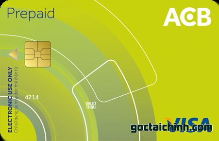 thẻ Visa prepaid