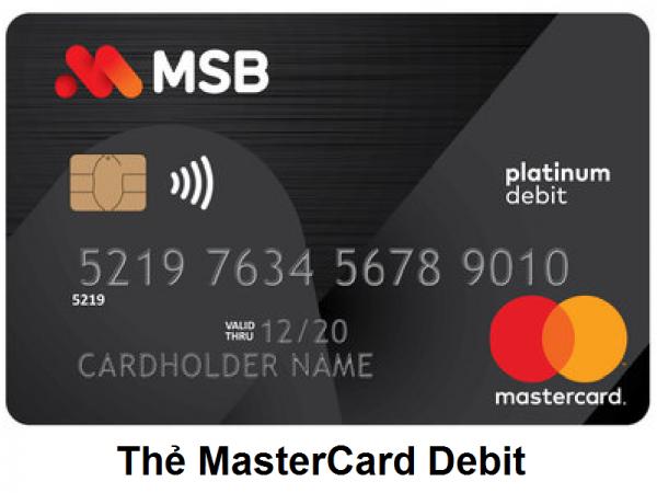 Thẻ Mastercard Debit