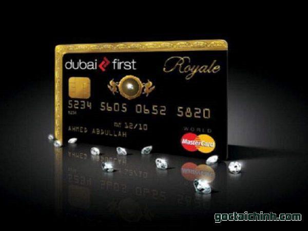 Black Card là gì - Dubai First Royale Mastercard
